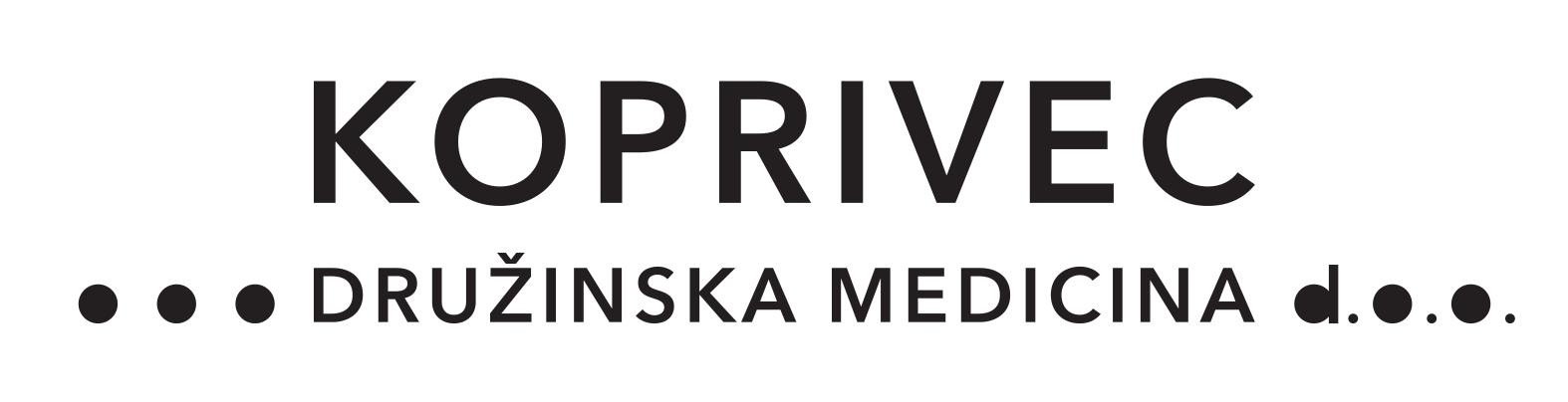 Koprivec družinska medicina logo